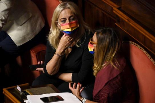 DdlZan, tensione al Senato