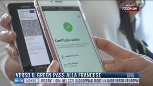 Breaking News delle 16.00 | Verso il green pass alla francese