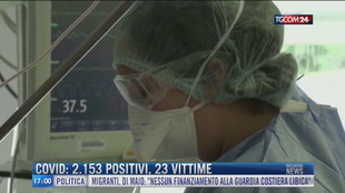 Breaking News delle 17.00 | Covid: 2.153 positivi, 23 vittime