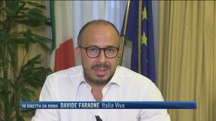 """Davide Faraone Italia Viva """"Si inventano i reati per mandare a processo un leader politico"""""""
