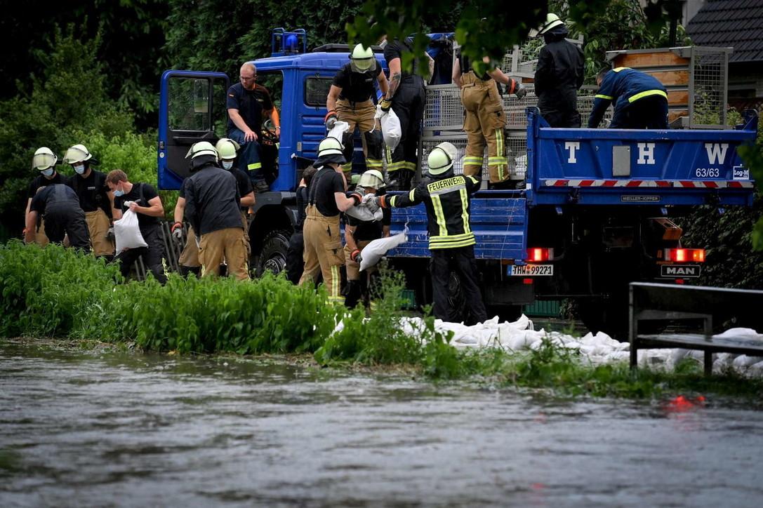 Germania, inondazioni per maltempo: morti e dispersi