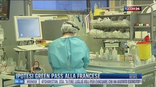 Breaking News delle 09.00 | Ipotesi green pass alla francese