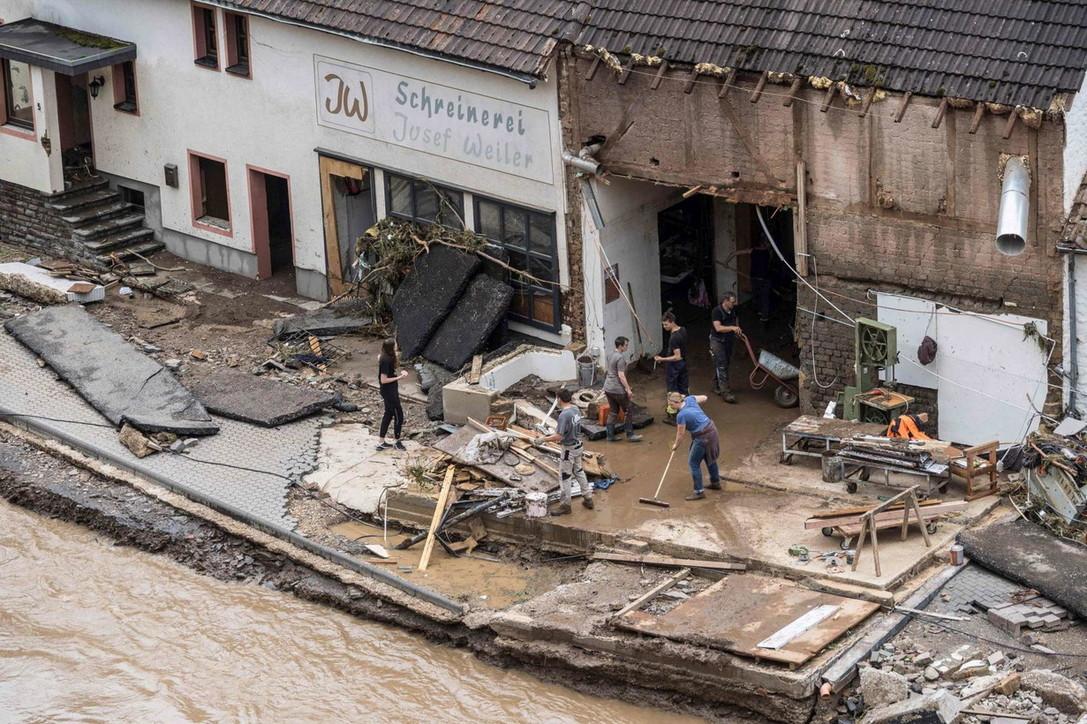 Alluvione Germania, si aggrava il bilancio delle vittime