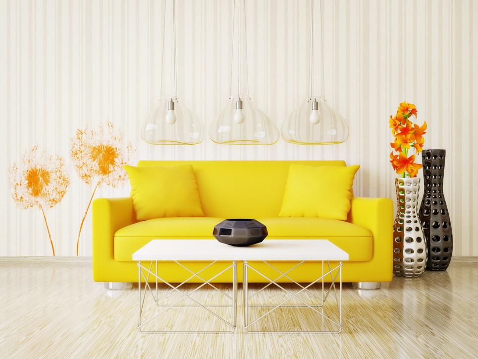 Tendenze arredo: porta in casa un po' di giallo, il colore dell'estate