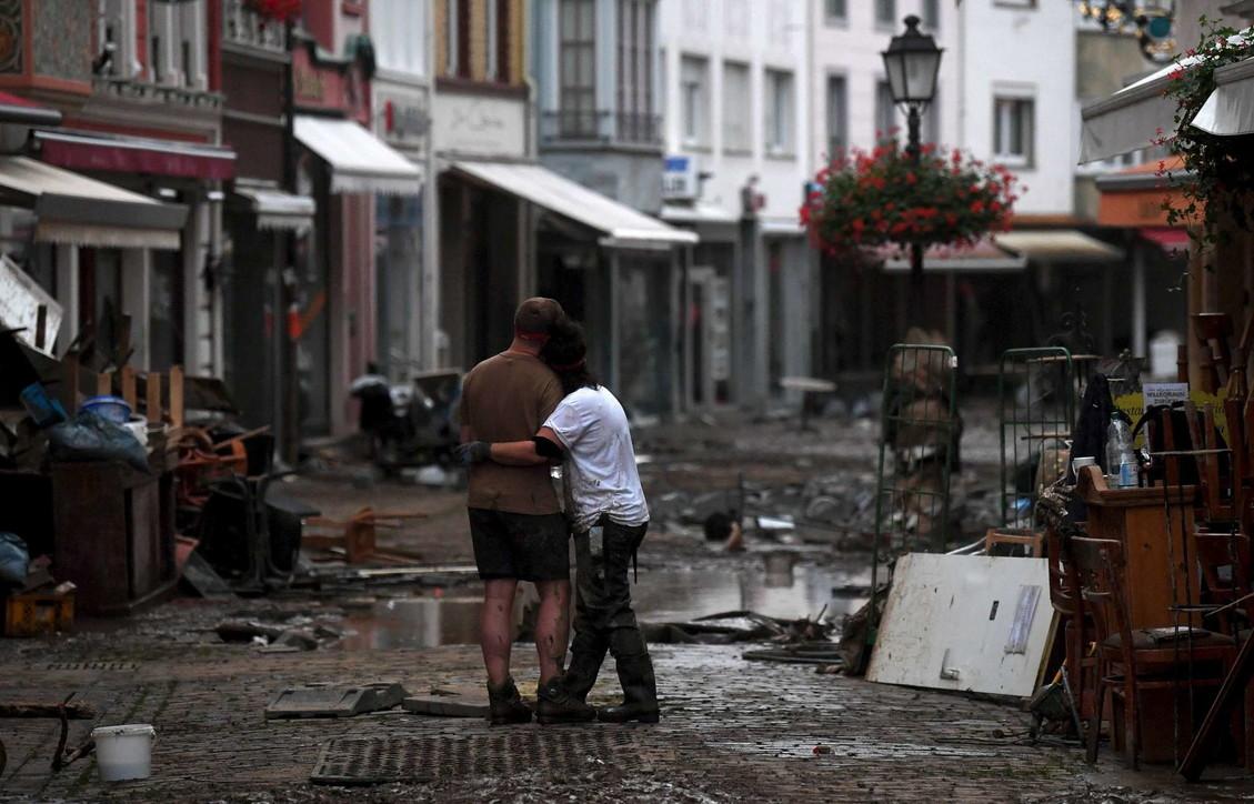 Maltempo, la Germania devastata dalle inondazioni