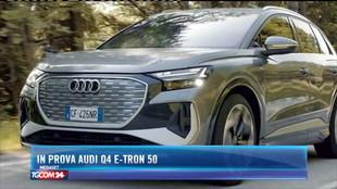 In prova Audi Q4 E-Tron 50