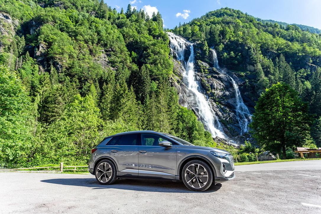 Audi Q4, che scossa il Suv elettrico!