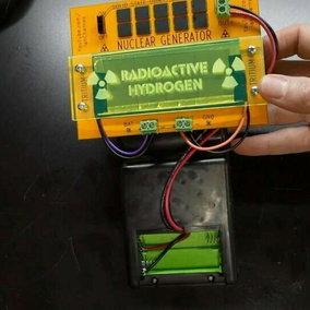 Videogiochi: youtuber fa funzionare un palmare sfruttando l'energia nucleare