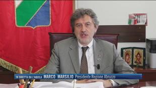 """Controlli in aeroporto, Marco Marsilio (Presidente Abruzzo): """"Abbiamo inasprito i controlli"""""""