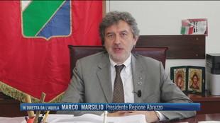 """Zona gialla, Marco Marsilio (Presidente Abruzzo): """"Considerare impatto sugli ospedali"""""""