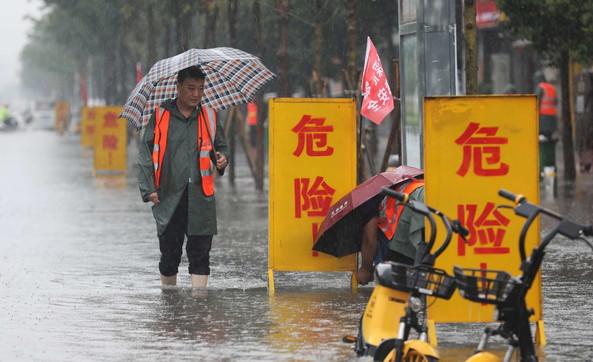 Gravissime inondazioni in Cina: caduti 40 cm di acqua