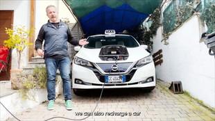 Marco il tassista: Leaf perfetta per il lavoro