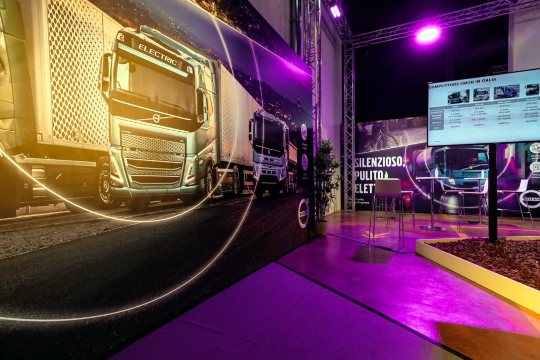 Dopo i bus, Volvo elettrifica i camion