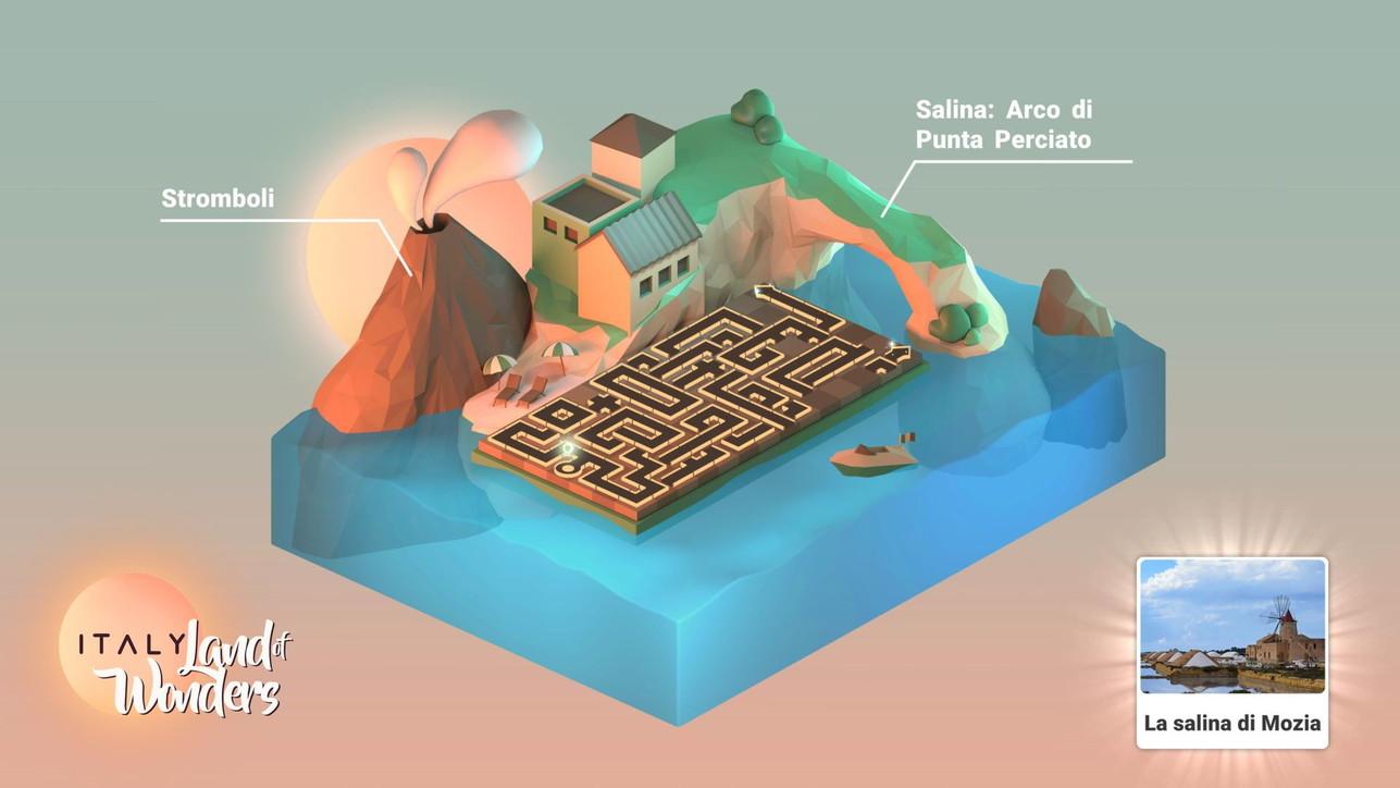 ITALY. Land of Wonders, le immagini del gioco gratuito alla scoperta del Bel paese