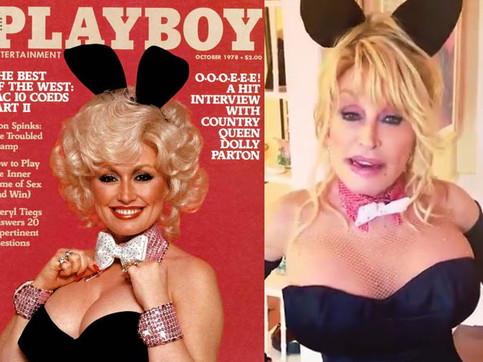 """Dolly Parton nuovamente in versione coniglietta di """"Playboy"""""""