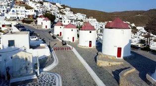Sole e vento, le risorse dell'Egeo