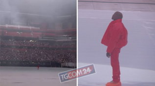 """Kanye West presenta il nuovo """"Donda"""" durante unamega evento sold out ad Atlanta"""