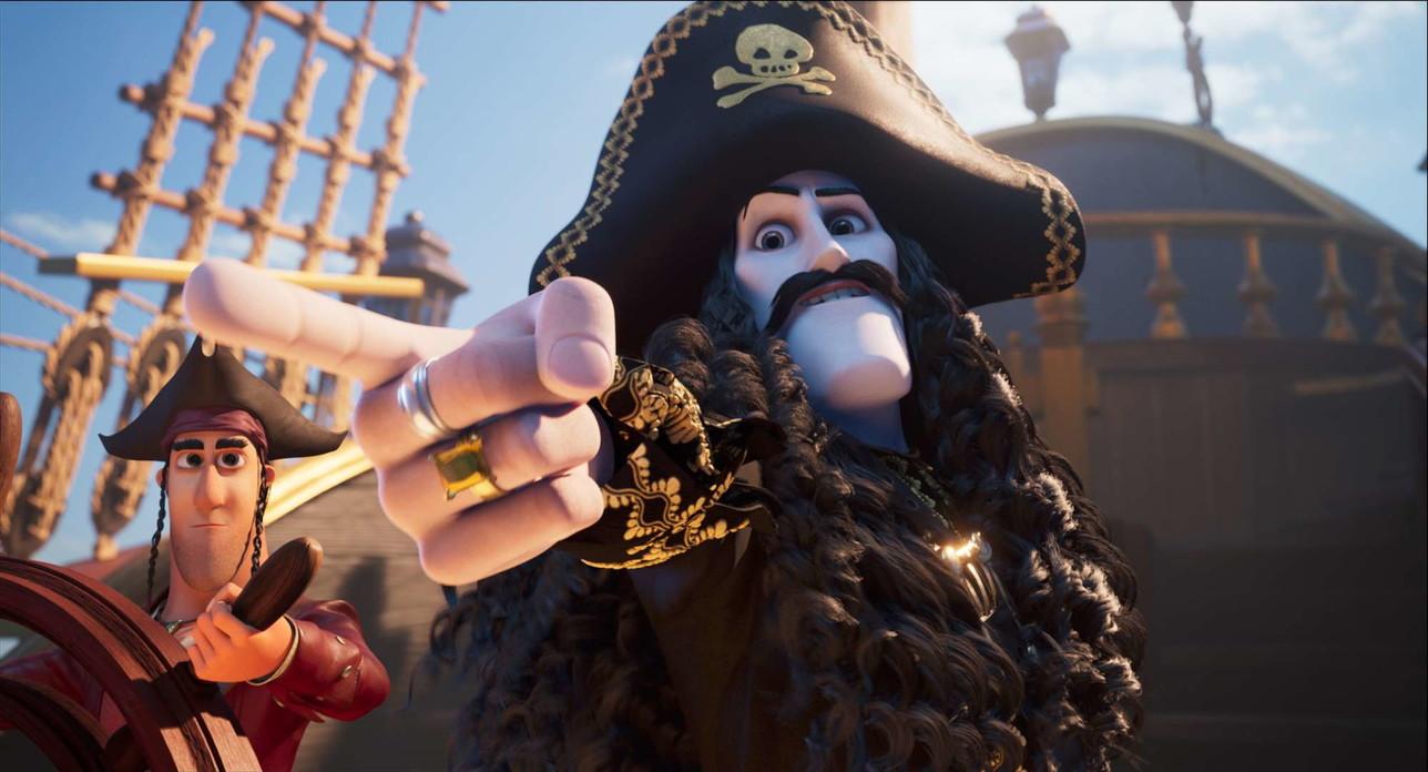 """""""Capitan Sciabola e il diamante magico"""", le foto del film d'animazione"""