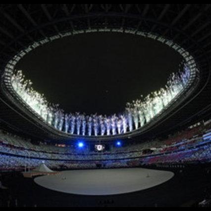 Lo spettacolo della cerimonia d'apertura