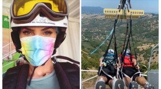 Ilary Blasi fa il volo del Falco Pellegrino, ma Totti…