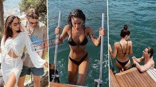 Le vacanze di lusso di Giulia De Lellis: dalla villa di Beretta al Forte allo yacht a Portofino