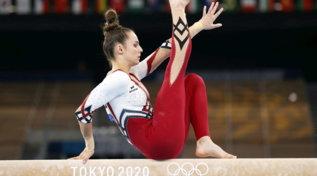 Le ginnaste tedesche dicono no al body e gareggiano con una tuta alla caviglia
