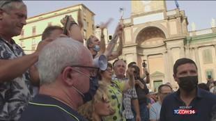 """Lamorgese: """"Manifestazioni no vax non erano autorizzate"""""""