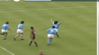 """""""Mattino Cinque"""", Bruno Pizzul ricorda Maradona: """"In campo annullava le leggi della fisica"""""""