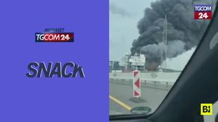 Allarme in Germania, esplosione in un impianto chimico