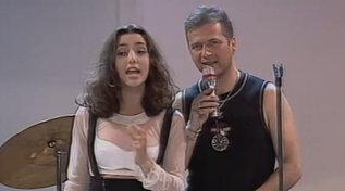 """Correva l'anno 1995: gli Oro cantavano """"Vivo per lei"""" a """"Non è la Rai"""""""