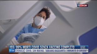 Breaking News delle 17.00 | Iss: 99% morti covid senza vaccino completo