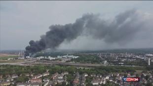 Esplosione a Leverkusen, almeno due morti