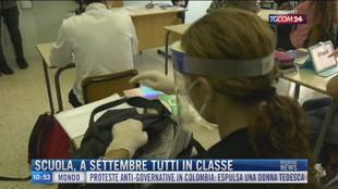 Breaking News delle 11.00 |  Scuola, a settembre tutti in classe