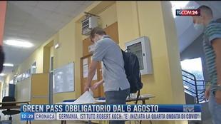 Breaking News delle 12.00 | Green pass obbligatorio dal 6 agosto