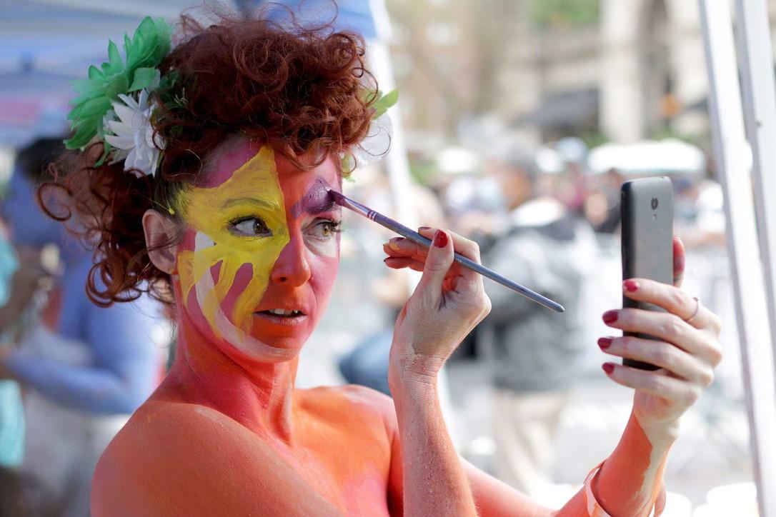 Arte sulla pelle: a New York il Bodypainting Day