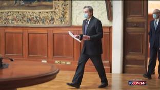 Draghi, nuovo incontro con Salvini sulle nuove misure anti Covid