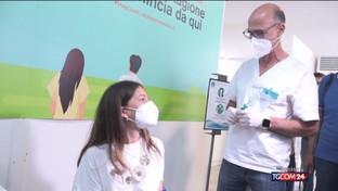 Messina, inoculata prima dose vaccino senza ago