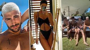 Moser, Rodriguez, Ventola e Tony Effe: tutti insieme in vacanza a Ibiza
