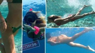 Da Georgina alla Corvaglia, le sirene sexy avvistate sott'acqua