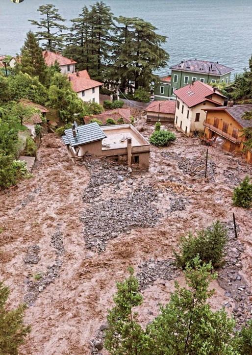 Esondazioni nel Comasco, Laglio tra le località colpite