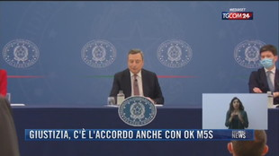 Breaking News delle 21.30 | Giustizia, c'è l'accordo anche con ok M5S