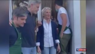 Clooney e Canalis ci mettono la faccia