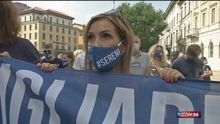 Inchiesta Covid Bergamo, ancora proteste
