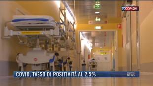 Breaking News delle 21.30 | Covid, tasso di positività al 2,5%