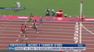 Breaking News delle 17.00 |  Tokyo2020, Jacobs e Tamberi d'oro