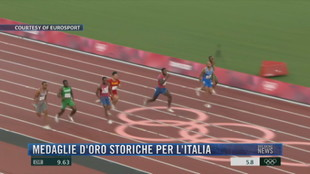 Breaking News delle 21.30 | Medaglie d'oro storiche per l'Italia