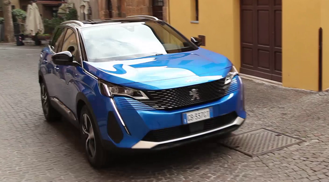 Peugeot nuovo 3008 Hybrid 4