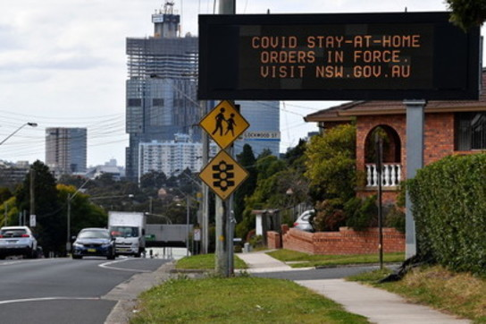 Covid, l'esercito a Sydney per far rispettare il lockdown