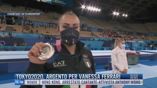 Breaking News delle 16.00 | Tokyo2020, argento per Vanessa Ferrari