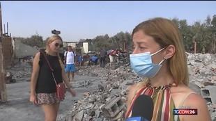 Incendi, assedio del fuoco continua: 700 interventi dei vigili al Sud